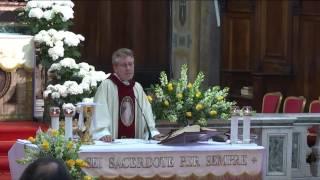 Omelia Primi Vespri della Domenica della Divina Misericordia -Santa Messa ore 18:30