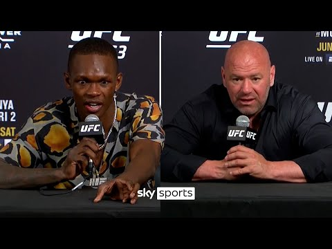 """""""You're scared, aren't you?!""""   Adesanya on win over Vettori & UFC 263's best post-fight interviews"""