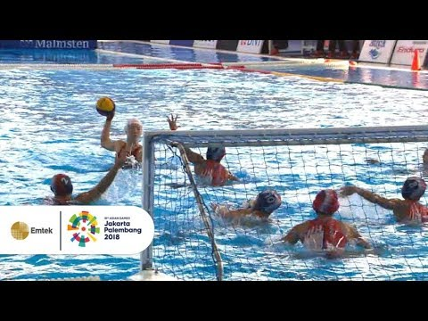 Highlight - Polo Air Putri - China V Indonesia - Penyisihan | Asian Games 2018 19/08/2018