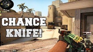 CS:GO - Chance Knife! - (ESEA) MatchMaking #25