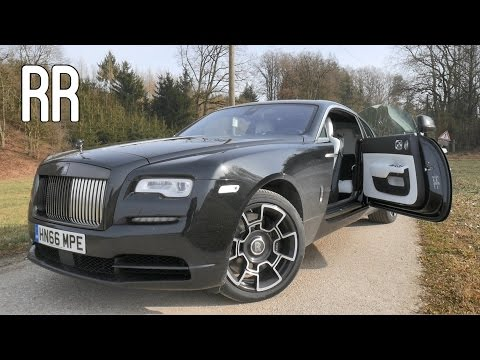 Rolls-Royce Wraith Black Badge 2017 REVIEW