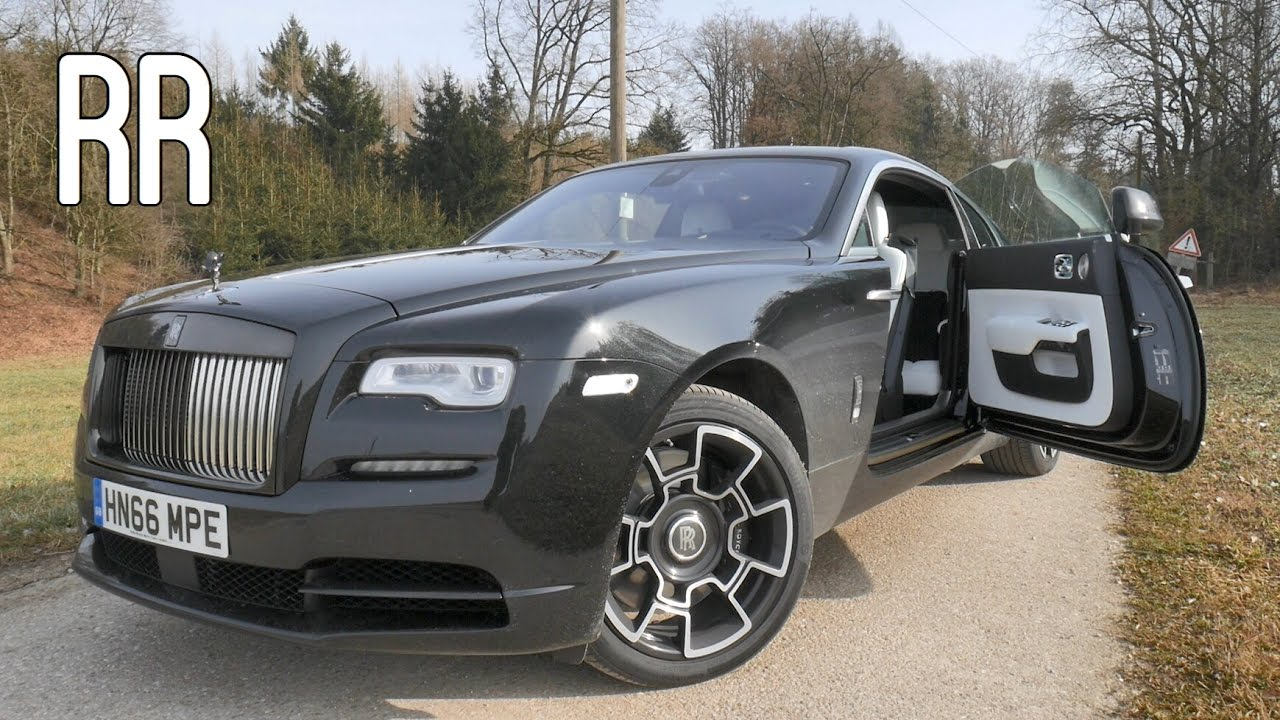 Rolls Royce Wraith Black Badge 2017 REVIEW
