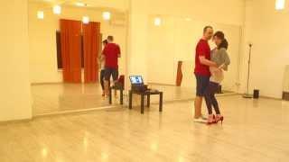 Видео-уроки бачаты: простейшие фишки ногами от Алексея и Рузанны