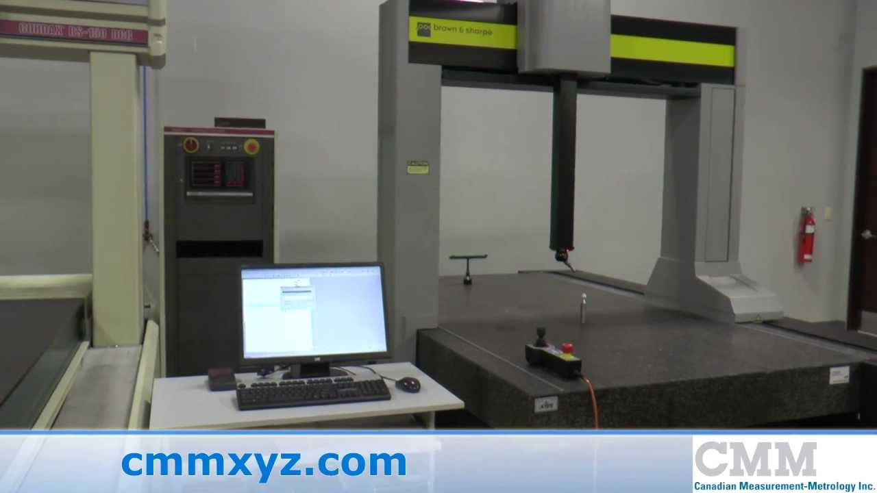 Used Brown Amp Sharpe CMM Xcel 122010 For Sale CMM Inc