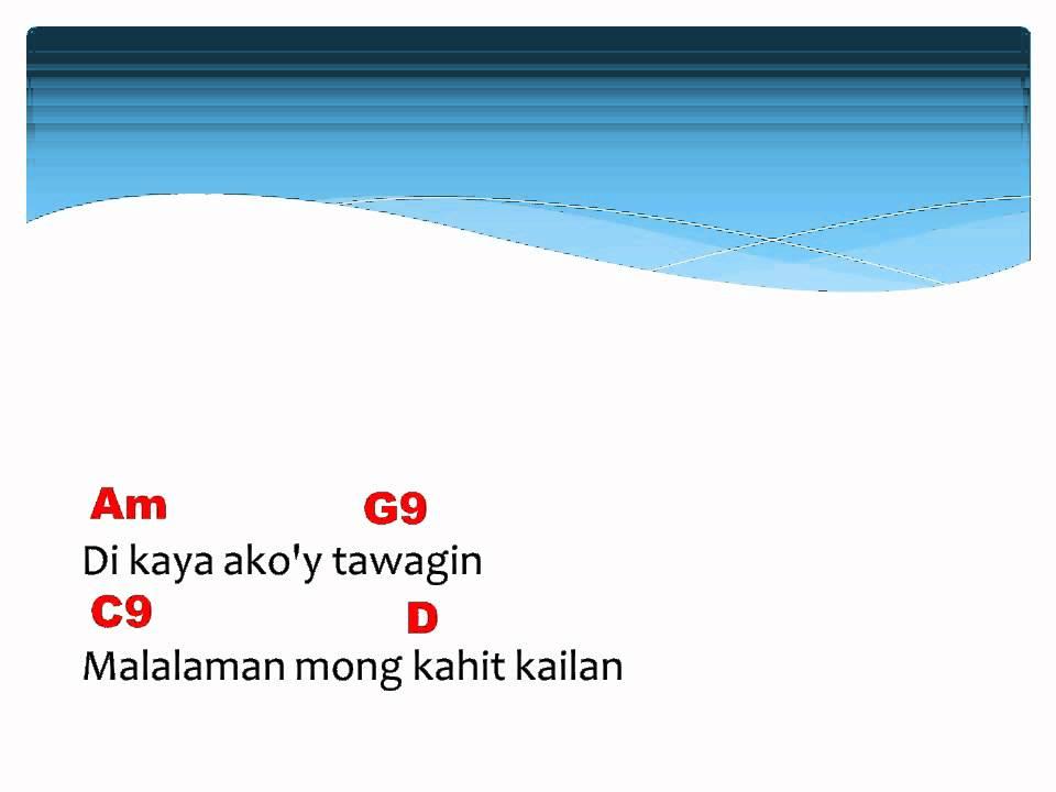 Hawak kamay with lyrics