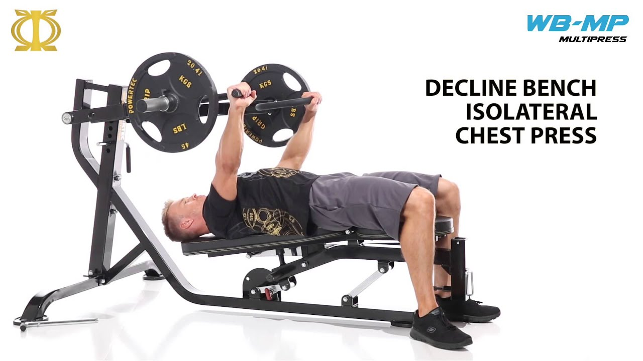 Powertec leverage multi press wb mp15 from youtube Leverage bench press