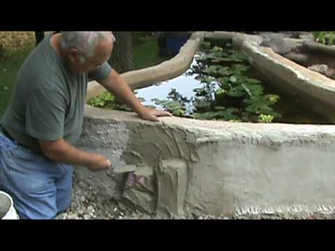Making A Concrete Bench Part 1 Tree Stumps Mpg Doovi