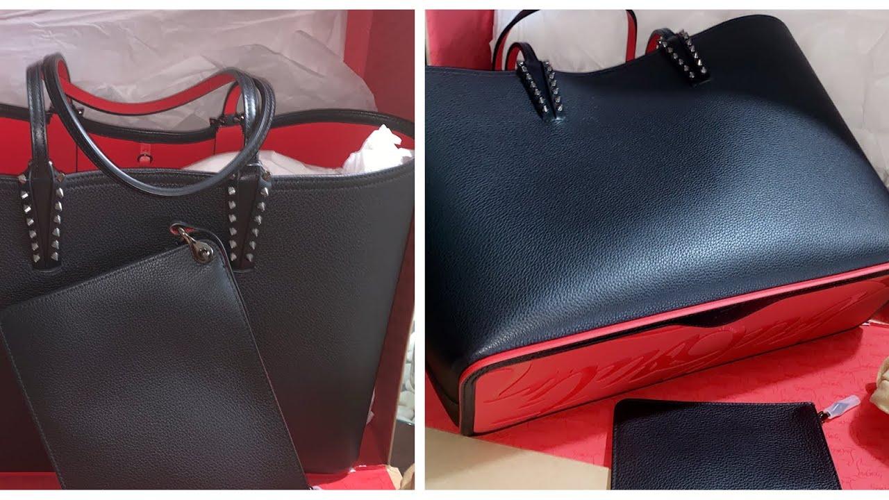 c7f3b42490 christian louboutin 👠cabata east-west leather tote bag. paloma Life