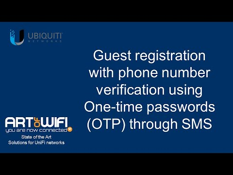 Captive portal software for UniFi | Art of WiFi