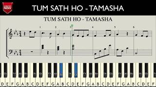 agar-tum-sath-ho---tamasha-how-to-play-music-notes