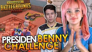 PRESIDEN BENNY MOZA CHALLENGE! - PUBG MOBILE INDONESIA