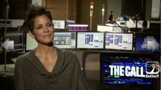 "Halle Berry says her name is in at least 8 rap songs in interview for ""The Call"""