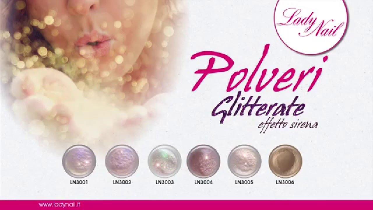 Tutorial applicazione polveri sirena lady nail youtube - Polvere effetto specchio unghie ...
