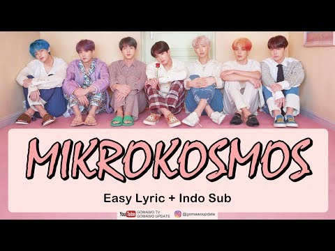 Easy Lyric BTS - MIKROKOSMOS By GOMAWO [Indo Sub]