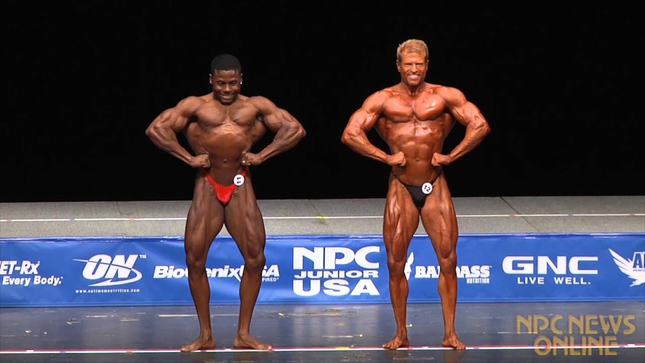 Men's Bodybuilding Lightweight 1st Callout at the 2013 NPC