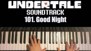 Undertale OST - 101. Good Night (Piano Cover by Amosdoll)