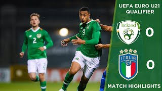 #irlu21 Highlights | Republic Of Ireland 0 0 Italy   Uefa U 21 European Championships