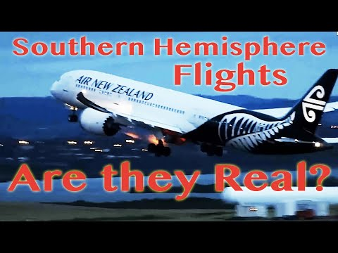 Are Southern Hemisphere Flights Real? -- Flat Earth Facts thumbnail