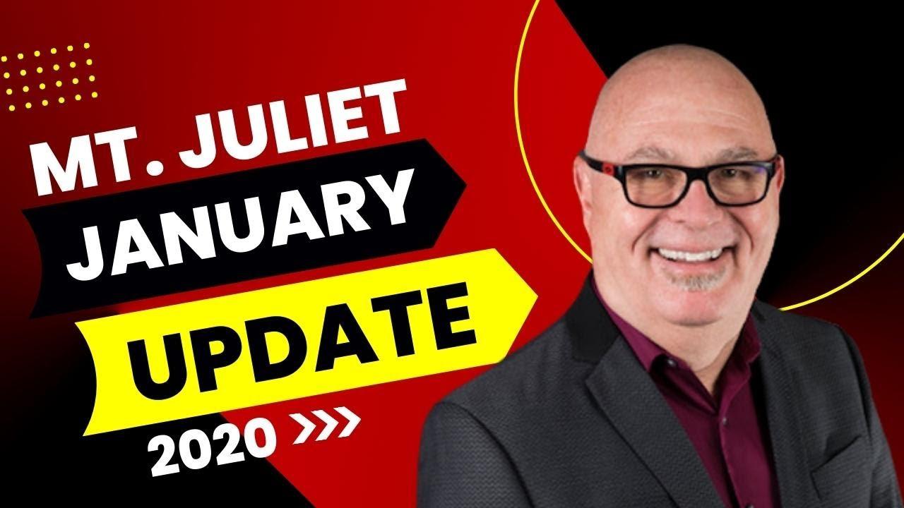 Mt Juliet Update-January 2020