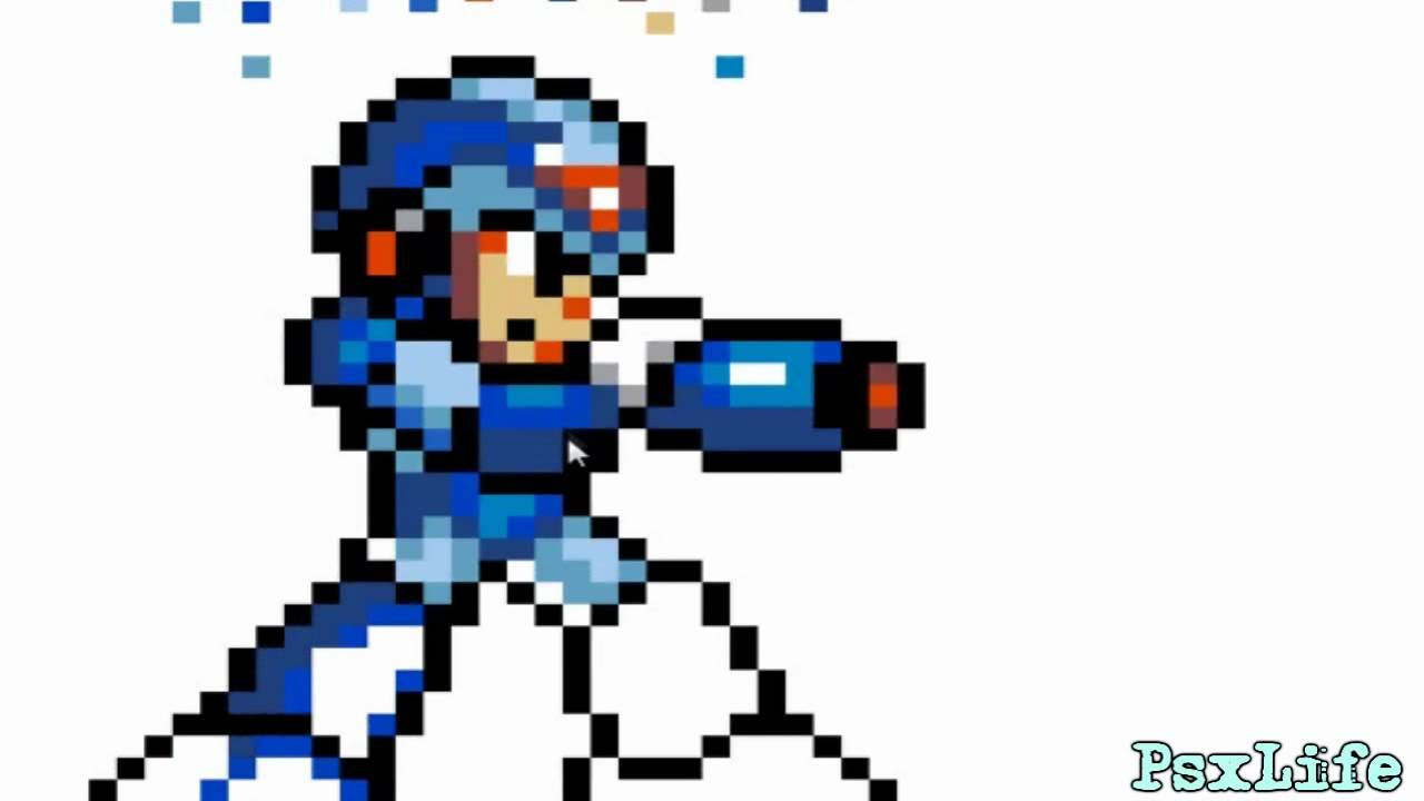 Paint-Megaman x-16 bit-PsXLife - YouTube: http://www.youtube.com/watch?v=IpVpjCb2yN8