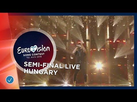 Hungary - LIVE - Joci Pápai - Az én apám - First Semi-Final - Eurovision 2019