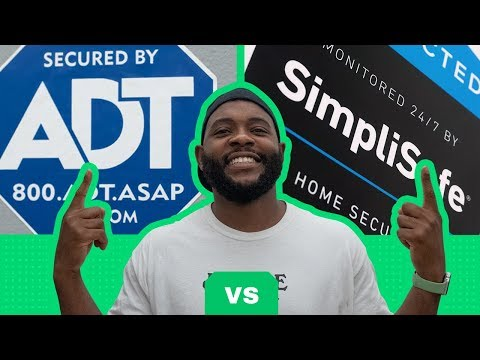 ADT vs. SimpliSafe Security System Review