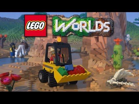 LEGO Worlds Gameplay #2 - Exploring an Endless Lego World!! (Lego ...