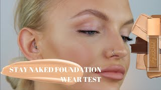 BRAND NEW URBAN DECAY STAY NAKED FOUNDATION & CONCEALER REVIEW | ELOISE MAE MAKEUP