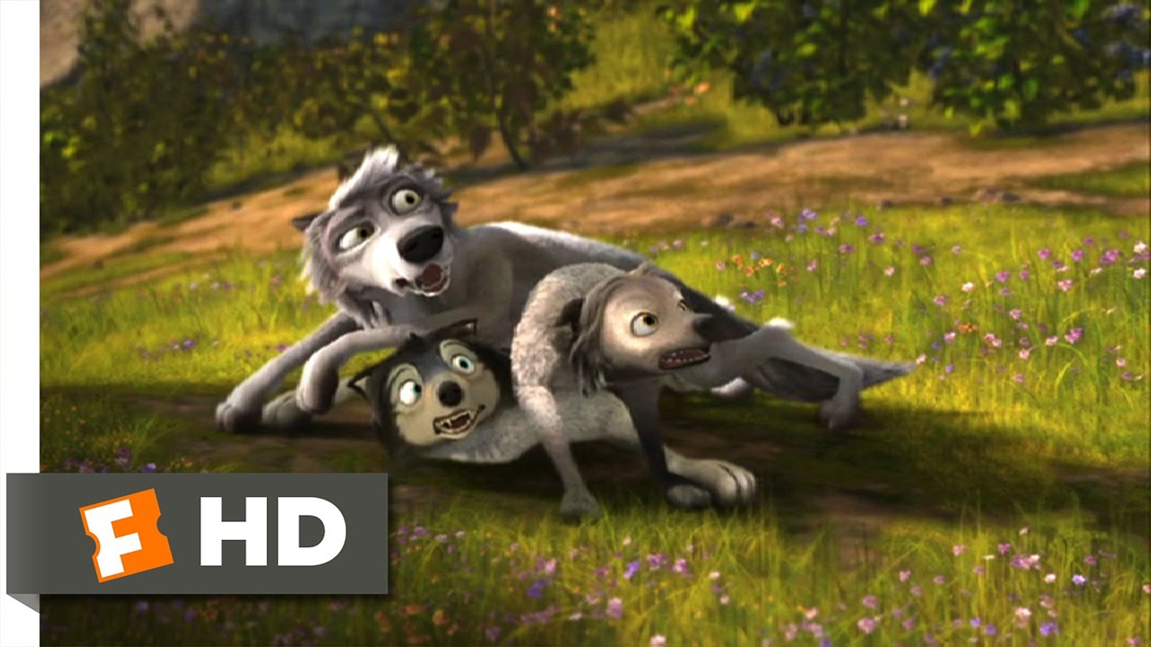 Download Alpha and Omega (1/12) Movie CLIP - Wolf Pile (2010) HD