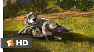 Alpha and Omega (1/12) Movie CLIP - Wolf Pile (2010) HD