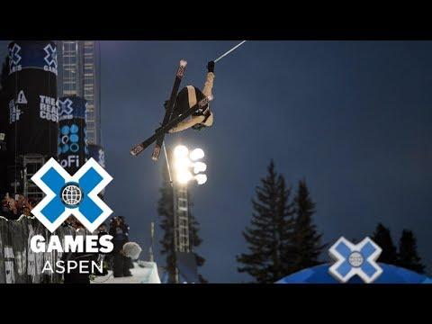 Brita Sigourney wins Women's Ski SuperPipe silver  X Games Aspen 2018
