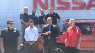 Mossy nissan national city's gm, kenny a. accepted the als ice bucket challenge! city is making a donation to association. now it's up ja...