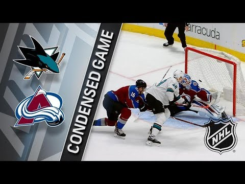 San Jose Sharks vs Colorado Avalanche – Jan. 18, 2018 | Game Highlights | NHL 2017/18. Обзор матча