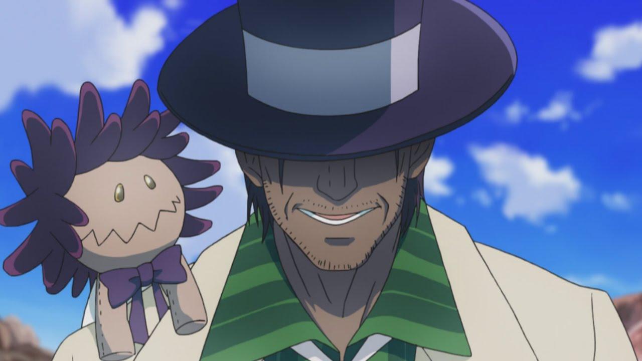 Millennium Earl True Form D.Gray-Man Hallow Anime Episode 5 ディー ...