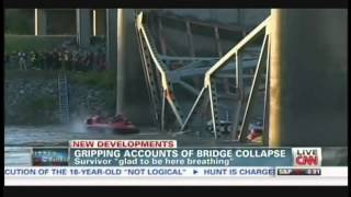 Interstate 5 Skagit River Bridge Collapses In Washington, Richard Dessin Interview (may 24, 2013)