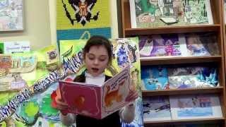 Гатчина. Детская библиотека. О книге Н. Поляковой ''Немножко про кошку''