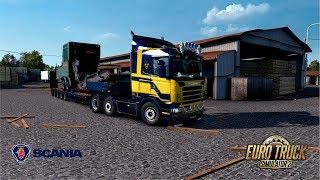 ETS2 1.28 - Promods 2.20 - Scania R420 DC12.420 - Olsztyn to Mukachevo