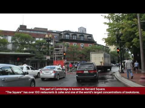 Cambridge & Downtown Boston Street Tour (feat. the Harvard & M.I.T. campuses)