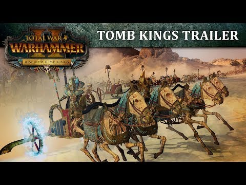 Total War: WARHAMMER II – Rise of the Tomb Kings Youtube Video