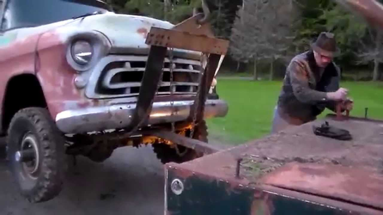 Classic Truck Rescue 1957 Chevy 4x4 Tow Youtube Lifted