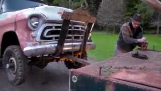 Classic Truck Rescue 1957 Chevy 4x4 Tow