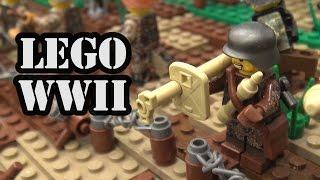 LEGO Battle of Troina WWII Italy 1943 | World War Brick 2017