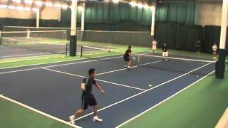 Andy Hill Cardio Tennis Triples