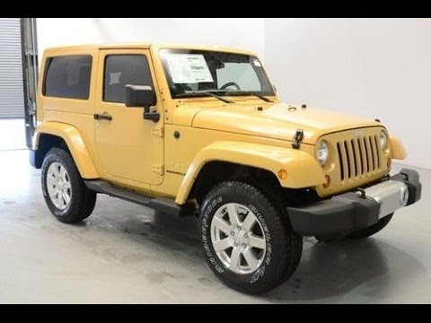 2014 JEEP WRANGLER SAHARA [Complete Review]