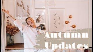 THE AUTUMN WARDROBE SWITCH UP! // Daily Vlog // Fashion Mumblr
