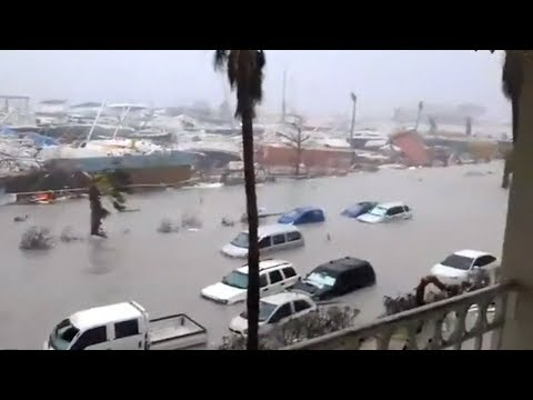 Hurricane Irma damage | Video compilation