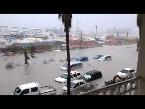 Hurricane Irma damage   Video compilation