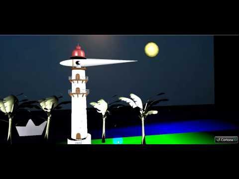 VRML Model of a Light House