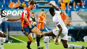Spanien - Frankreich 4:1 - Die Highlights | Fußball U21-EM 2019 - ZDF