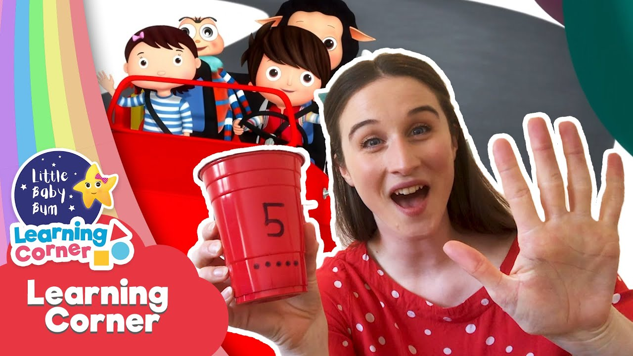 LEARN Numbers  Learning Activities for Kids   Learn at Home   Nursery Rhymes   Little Baby Bum